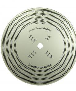 Audio Technica Stroboskopskive (Justering)
