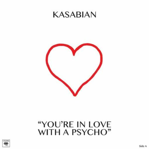 """Kasabian - You're In Love With A Psycho (10"""") (Vinyl)"""