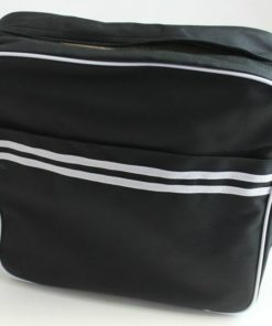 Retro Messenger Bag (Sort) (Transportkasser)